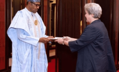 Human rights abuse: My conscience is clear - President Buhari tells US envoy, Mary Leonard
