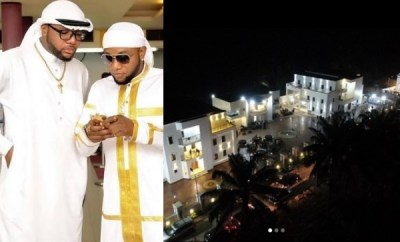 Kcee and E-Money show off their new house in the village (photos)