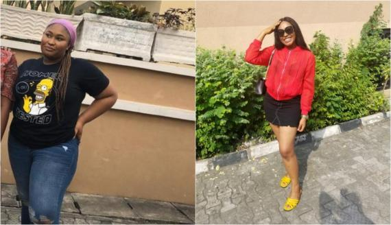 Nigerian lady shows off her amazing transformation