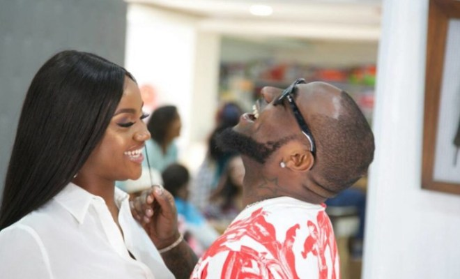 Davido and Chioma start following each other again on Instagram after Twitter storm