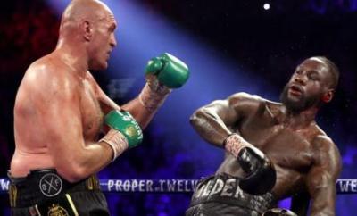 Deontay Wilder backs off as Tyson Fury attacks