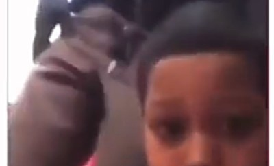 Little Black boy gives police officers a piece of his mind after they suspected him of shoplifting (video)
