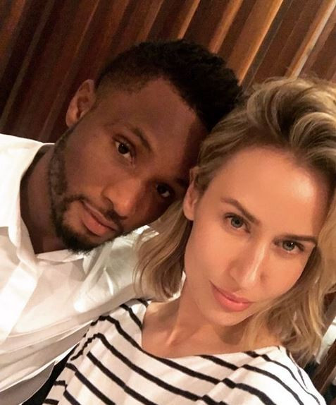 """You are vile, but my man is a hero - Olga Allegra fires back at man who called Mikel Obi a """"pu*sy"""" after he terminated his contract with Trabzonspor FC"""