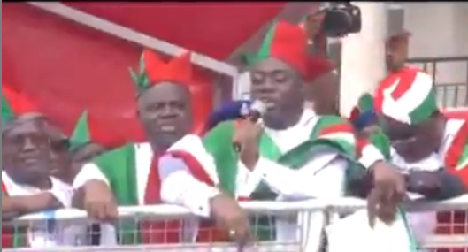 Video of Governor Seyi Makinde mocking coronavirus at a PDP rally days ago surfaces after he tested positive for the virus (video)