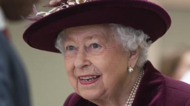 The Queen during a visit to the MI5 headquarters on 25 March