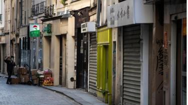 closed shops in Paris