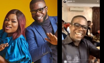 We are safe and sound - JJC Skillz says as he backs his wife, Funke Akindele on why they held a house party (video)