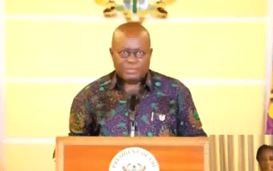 Coronavirus lockdown: Ghanaian president, Nana Akufo-Addo, declares free water supply for citizens for the next three months + uninterrupted power supply