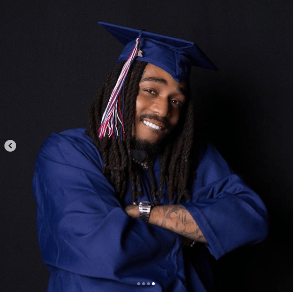 Migos Rapper, Quavo finally graduates from high school years after dropping out to pursue his music career (photos)