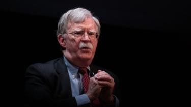 John Bolton (file photo)