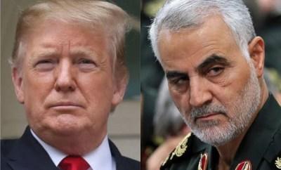 Iran issues arrest warrant for Trump over the murder of top Iranian general, Qassem Soleimani; asks Interpol to help