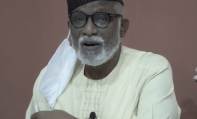 Ondo state governor, Rotimi Akeredolu tests positive for Coronavirus (video)