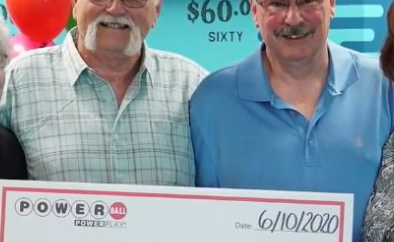 Man splits $22 Million lottery winning with his best friend to uphold a promise made nearly 30 years ago