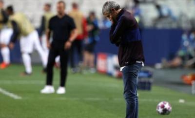 Barcelona manager Quique Setien