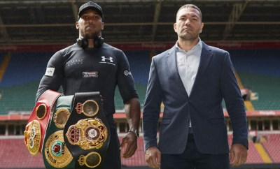 Anthony Joshua set to defend his three world heavyweight titles against Kubrat Pulev in December