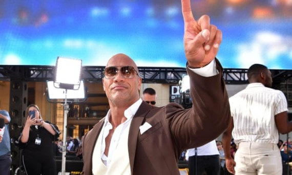 Dwayne ?The Rock? Johnson tops Forbes? list of highest-paid actors for the second year in a row