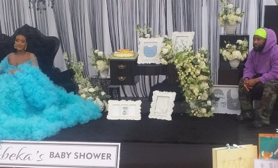 Cassper Nyovest throws baby shower for his fiancee, Thobeka Majozi (photos)