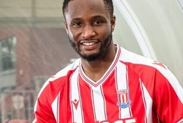 John Mikel Obi joins Championship side Stoke City (photos)