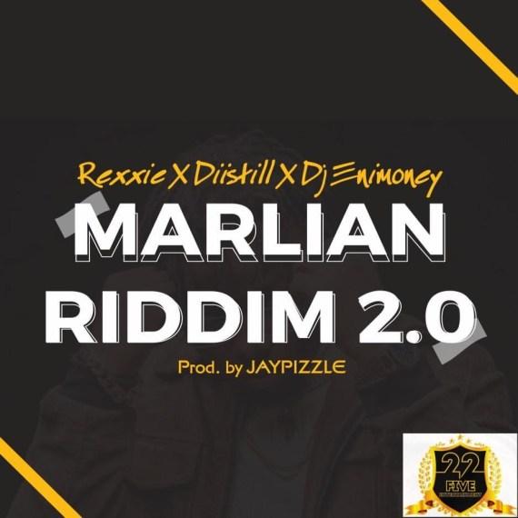 Diistill x Rexxie x Dj Enimoney - Marlian Riddim (Freestyle)