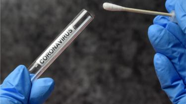 Coronavirus swab test