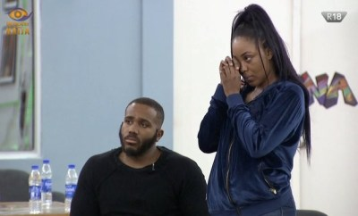 #BBNaija: Erica disqualified from the Big Brother Naija Lockdown show