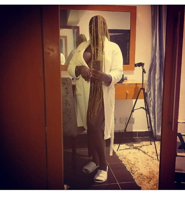 Nollywood actress Khyara Nwokora defends sharing her nude photos on social media