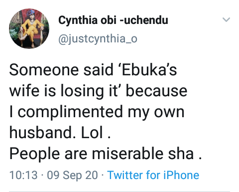 """People are miserable"" - Ebuka"