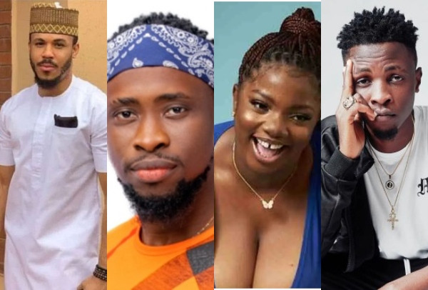 #BBNaija: Ozo, Dorathy, Trickytee and Laycon are up for eviction