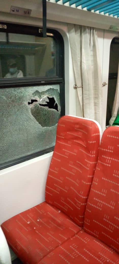 Abuja-Kaduna train allegedly attacked by bandits