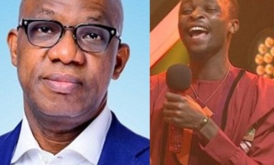 #BBNaija:  Your victory is aptly a confirmation of your brilliance, intellect and maturity- Ogun state governor, Dapo Abiodun congratulates Laycon