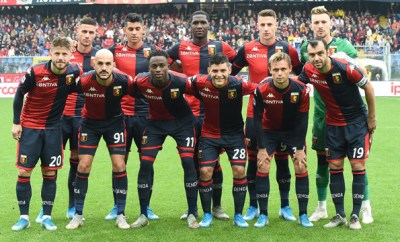 Italian football could be dramatically suspended as 14 team members and staff test positive for?coronavirus?at Genoa club