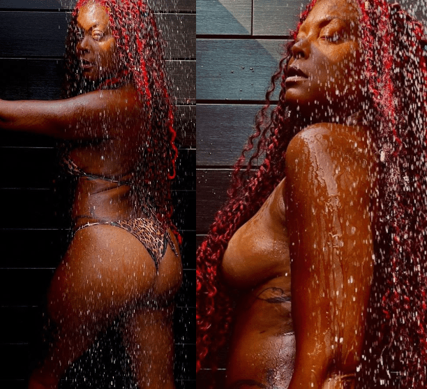 Actress, Taraji P Henson flaunts her toned body in steamy shower photoshoot