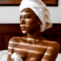 I Hated My Big Boobs - Abby Zeus Poses Completely Nude in New Photos As She Explains Why She Goes Naked On Instagram