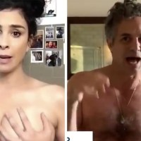 Celebrities Get Naked To Encourage Americans To Vote [Video]