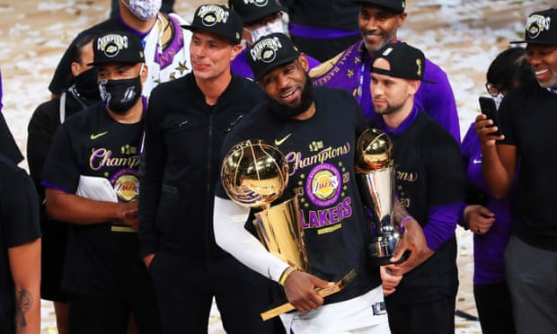 Los Angeles Lakers beat Miami Heat to win the 2020 NBA championship (photos)