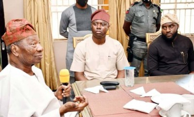 #EndSARS protest: Governor Makinde releases N100m for renovation of Soun of Ogbomoso palace, families of slain victims to get N1m