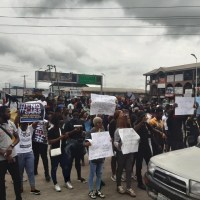 #EndSARS Protest Rocks Warri [Photos/Video]