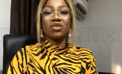 "#EndSARS: ""The youths are not leaving the streets until we see action""- ex-BBNaija housemate, Tacha (video)"
