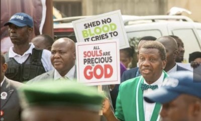 Pastor Adeboye Endorses #EndSARS Protests