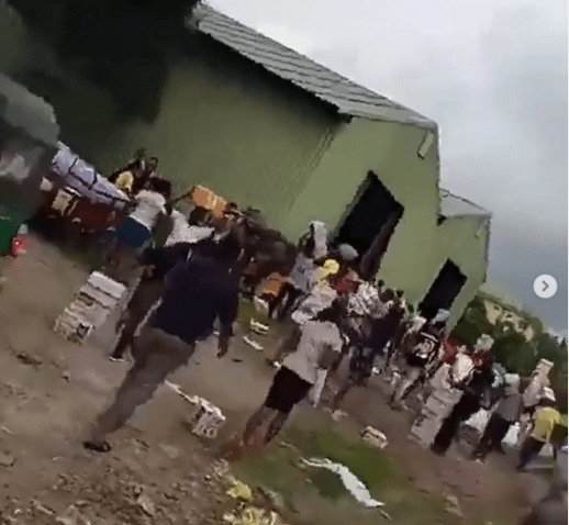 Another warehouse housing COVID-19 palliatives found in Calabar, Cross River state (video)