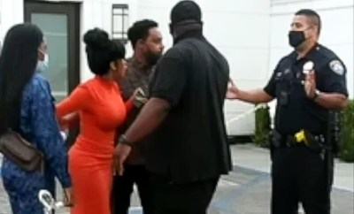Video shows Cardi B confronting police when they dragged her husband, Offset from his car last week (video)