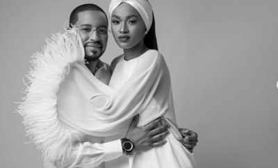 Hanan Buhari shares loved up photos with her husband, Turad