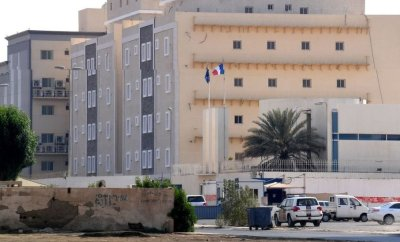 File photo showing French consulate in Jeddah (29 October 2020)