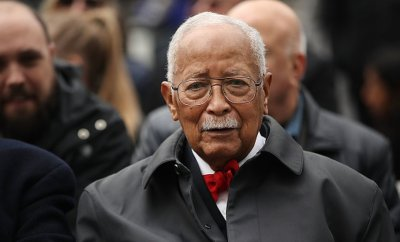 David Dinkins pictured in 2018