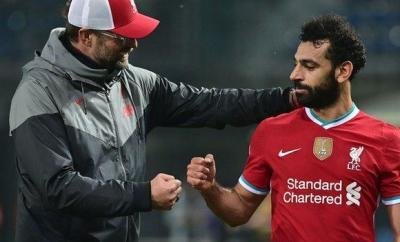 Mohamed Salah acknowledges Jurgen Klopp