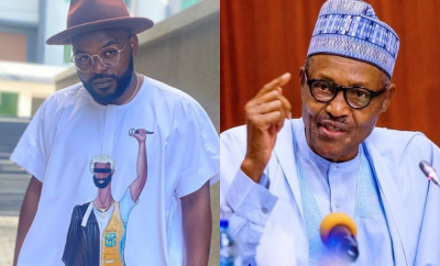 You clearly know nothing about respecting the will of the people - Falz slams Buhari