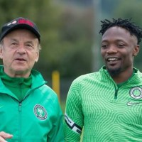 AFCON Qualifiers: Ahmed Musa, Iheanacho And Etebo Arrive in Nigeria Camp Ahead of Sierra Leone Clash