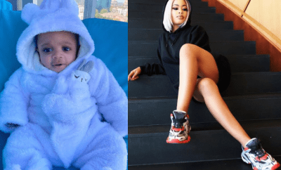 BBNaija star, Nina shares new photos of her son Denzel