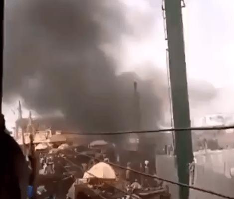 Okada men and Agodi prison officials clash in Ibadan (video)