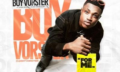 Boy Vorster – For Me